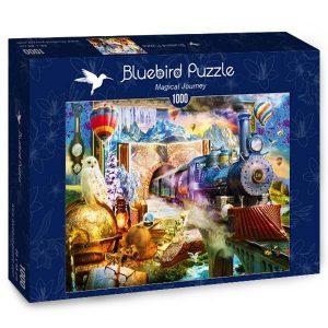 Puzzle Bluebird - Viaje mágico - 1000 piezas