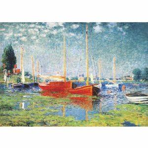 Puzzle DToys - Monet: Argenteuil - 1000 piezas