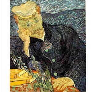 Puzzle DToys - Van Gogh: Retrato del doctor Gachet - 1000 piezas