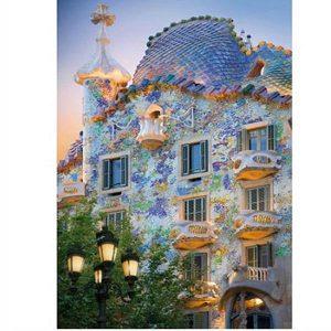 Puzzle DToys - Descubrir Europa: Casa Batlló, Barcelona, España - 1000 piezas