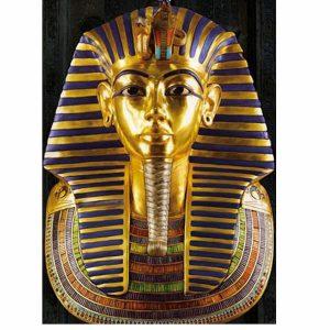 Puzzle DToys - Antiguo Egipto: Máscara de Toutankhamon - 1000 piezas