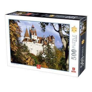 Puzzle DToys - Castillo de Bran - 500 piezas