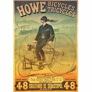 Puzzle DToys - Clásicos: Howe triciclos - 1000 piezas