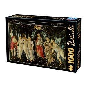 Puzzle DToys - Sandro Botticelli: La Primavera - 1000 piezas