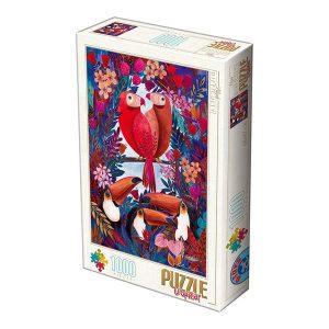Puzzle DToys - Andrea Kürti: tropical - 1000 piezas