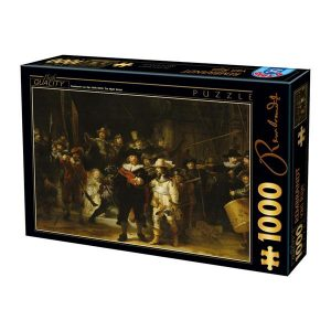 Puzzle DToys - Rembrandt - Night Watch - 1000 piezas