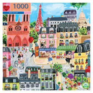 Puzzle eeBoo París de 1000 piezas