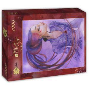 Puzzle Grafika - Misstigri: Violette - 1000 piezas