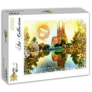 Puzzle Grafika - Viajar por el Mundo - España - 1000 piezas
