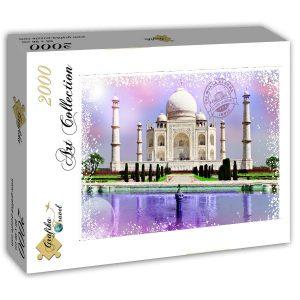 Puzzle Grafika - Viajar por el mundo - la India - 2000 piezas