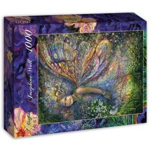 Puzzle Grafika - Josephine Wall - La madera de hadas - 1000 piezas