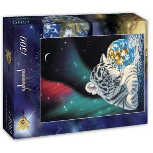 Puzzle Grafika - Schim Schimmel - Luz de la tierra - 1500 piezas