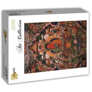 Puzzle Grafika - Buda Amitabha en su tierra pura de Suvakti - 1500 piezas
