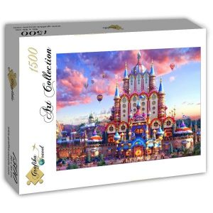 Puzzle Grafika - El país de las hadas - 1500 piezas