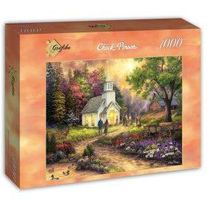Puzzle Grafika - Chuck Pinson - Fuerza A lo largo del trayecto - 1000 piezas