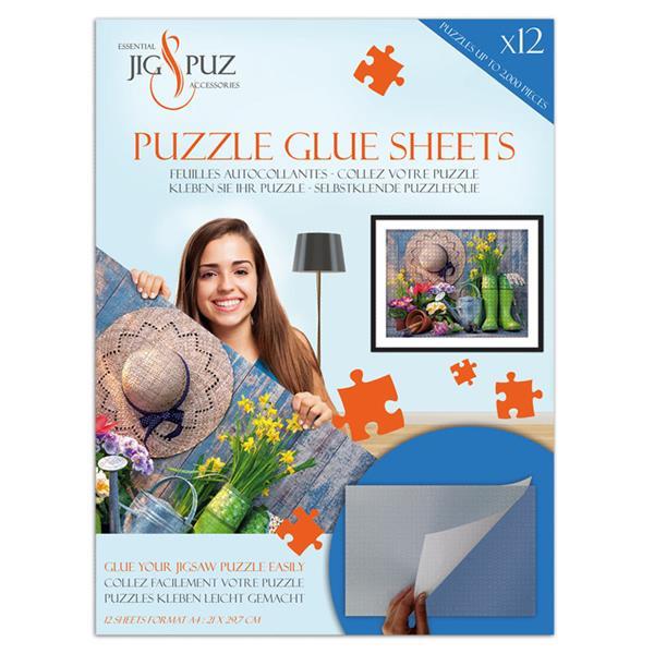 Hoja pegamento para puzzles de 2000 unidades - Puzzles Jig & Puz