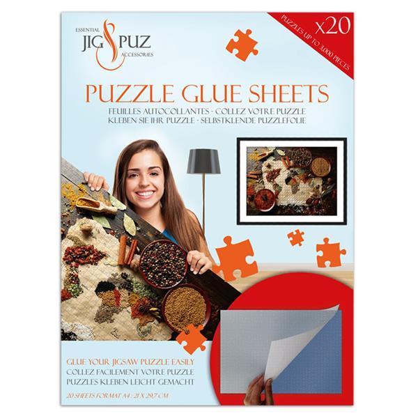 Hoja pegamento para puzzles 3000 Piezas - Puzzles Jig & Puz