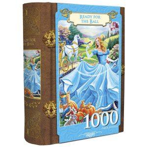 Puzzle Master Pieces - Libro caja - Cenicienta - 1000 piezas