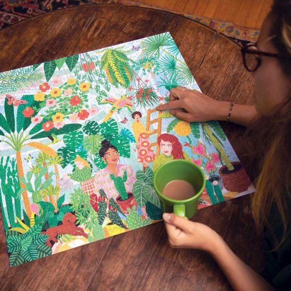 Puzzle eeBoo Plantas y Mujeres Plant Ladies de 1000 piezas