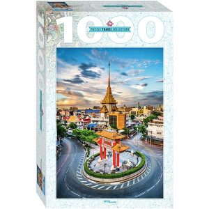 Puzzle Step - Chinatown en Bangkok, Tailandia - 1000 piezas