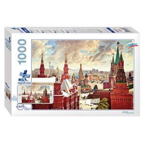 Puzzle Step - Kremlin, Moscú - 1000 piezas