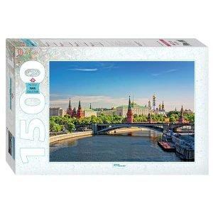 Puzzle Step puzzles - Kremlin, Moscú - 1500 piezas