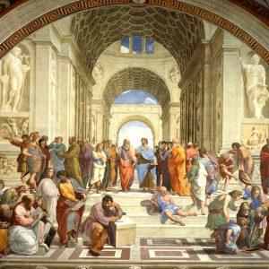 Puzzle La Escuela de Atenas de Raffaello