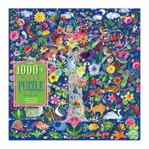Puzzle eeBoo Árbol de la vida de 1000 piezas