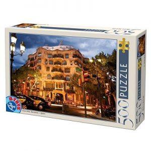 Puzzle DToys - Casa Mila - Barcelona - 500 piezas