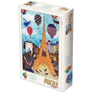 Puzzle DToys - Andrea Kurti - Paris - 1000 piezas