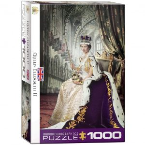 Puzzle Eurographics Reina Isabel II 1000 piezas