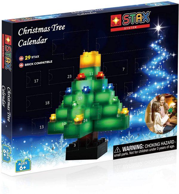 calendario adviento arbol de navidad stax lego