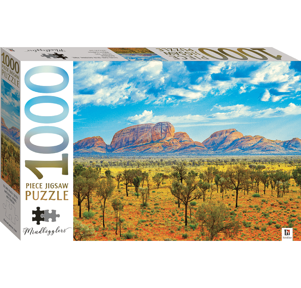 Puzzle MindBloggers Austraila Uluru-Kata Tjuta de 1000 piezas