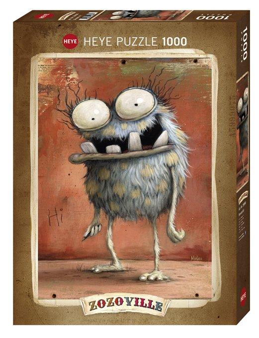 Puzzle Heye Monstruo Hi Monster ZozoVille de 1000 piezas
