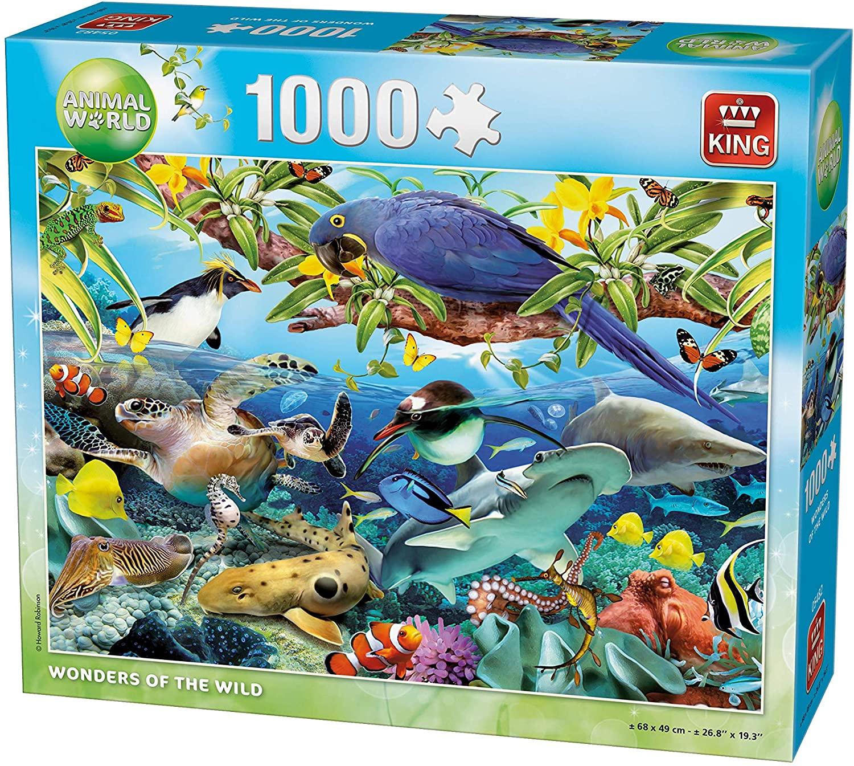 Puzzle King Mundo marino de 1000 piezas