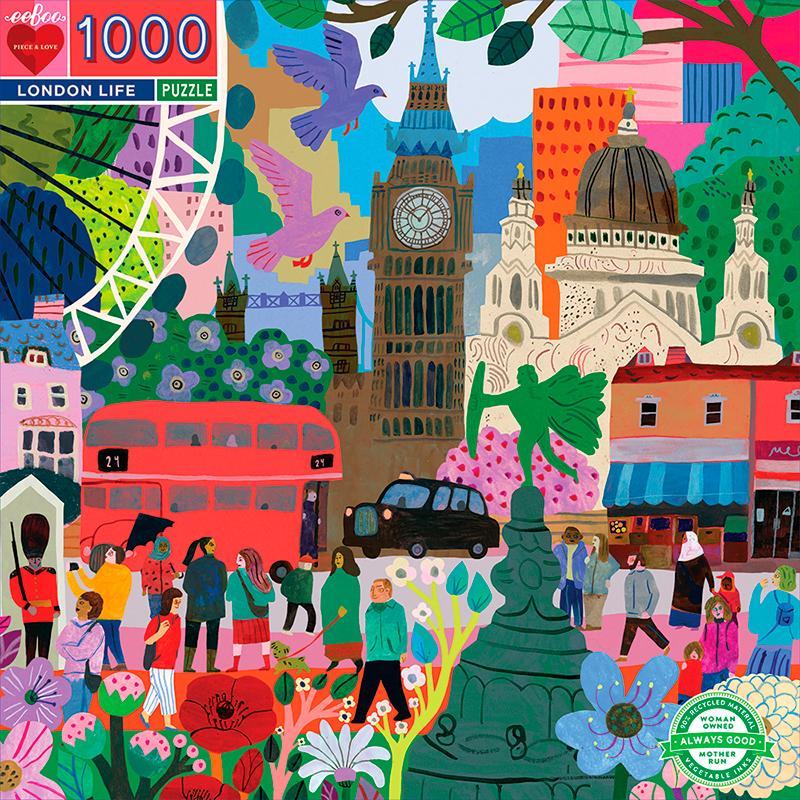 Puzzle eeBoo Londres de 1000 piezas