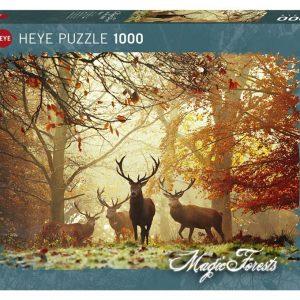 Puzzle Heye Ciervos de 1000 piezas