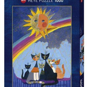 Puzzle Heye Gatos de Wachtmeister de 1000 piezas