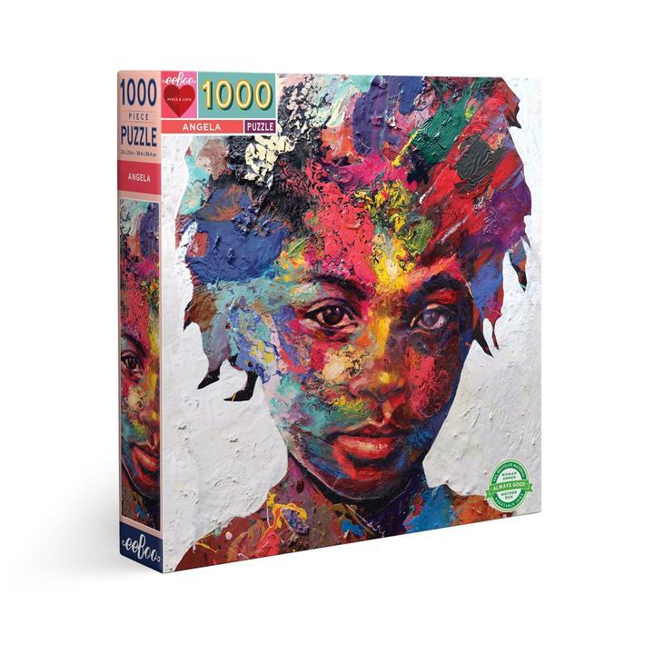 Puzzle eeBoo Angela de 1000 piezas