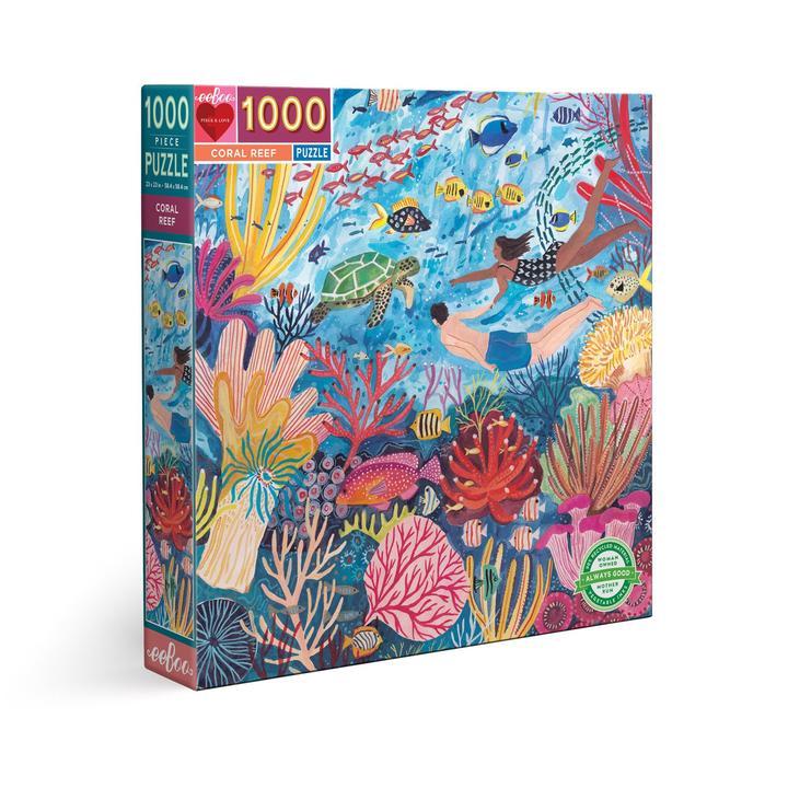 Puzzle eeBoo Arrecife de Coral de 1000 piezas