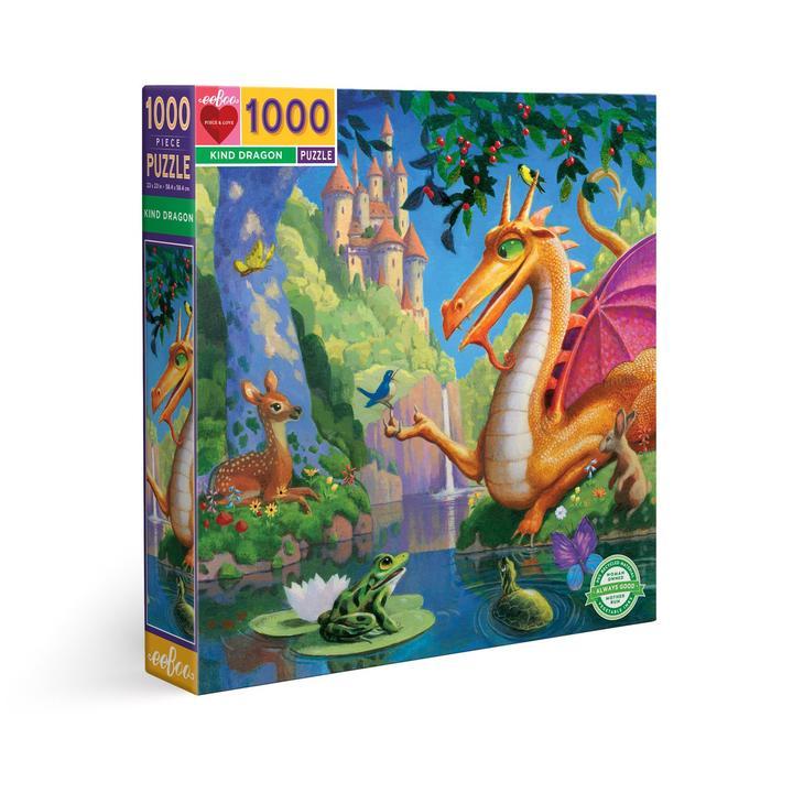 Puzzle eeBoo Dragón de 1000 piezas