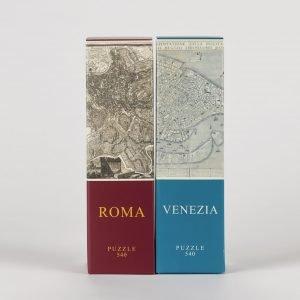 Puzzle Architoys Italia Roma + Venecia de 540 piezas PACK