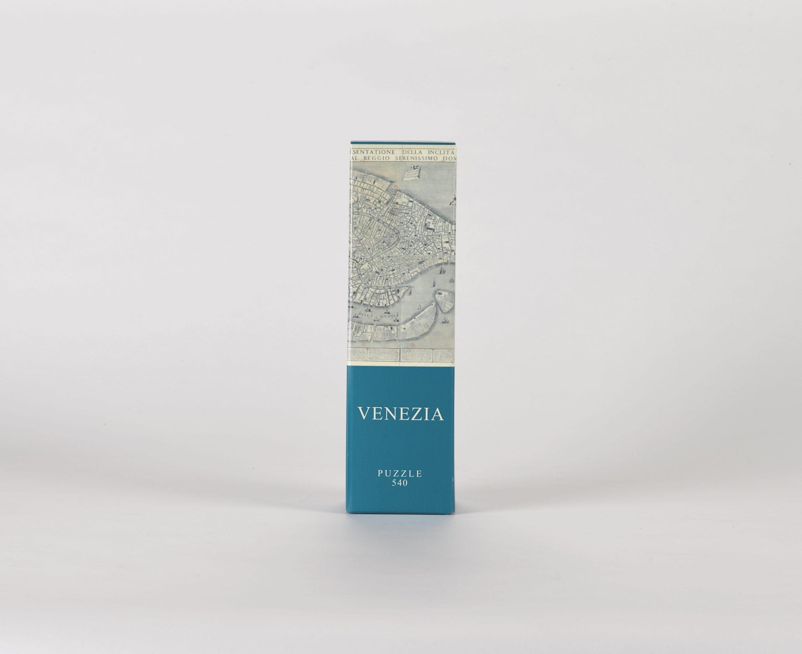 Puzzle Architoys Mapa de Venecia de 540 piezas