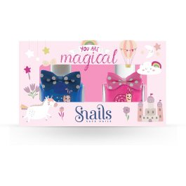 Pintauñas infantil Pack 2 esmaltes You are magical SNAILS