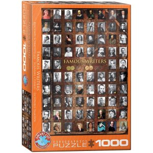 Puzzle Eurographics Escritores Famosos de 1000 piezas