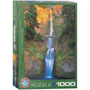 Puzzle Eurographics Cascada Multnomah Oregon de 1000 piezas