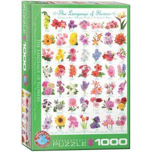 Puzzle Eurographics Flores de 1000 piezas