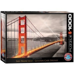 Puzzle Eurographics Golden Gate San Francisco de 1000 piezas