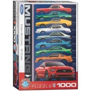 Puzzle Eurographics Ford Mustang 50 aniversario de 1000 piezas