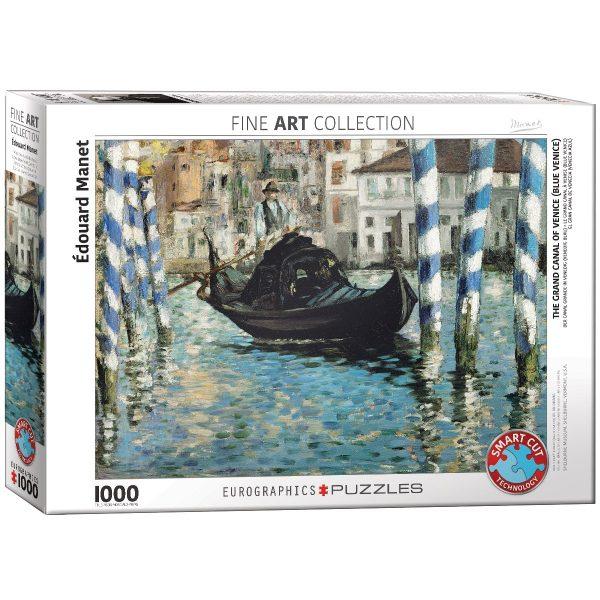 Puzzle Eurographics Gran Canal de Venecia de Picasso de 1000 piezas